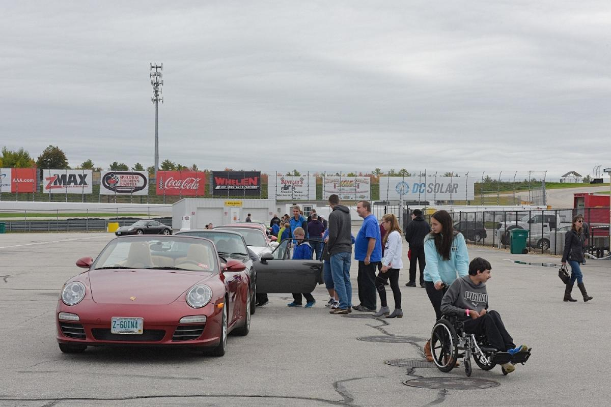 Porsche Club of America Event - Spring Is a Long Time Coming/Make-A-Wish