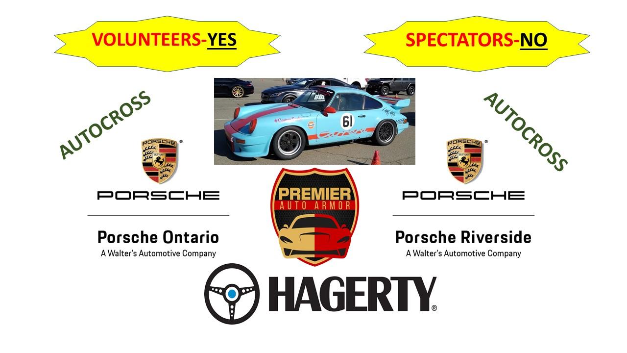 Porsche Club of America Event - PCA Autocross at Auto Club Speedway