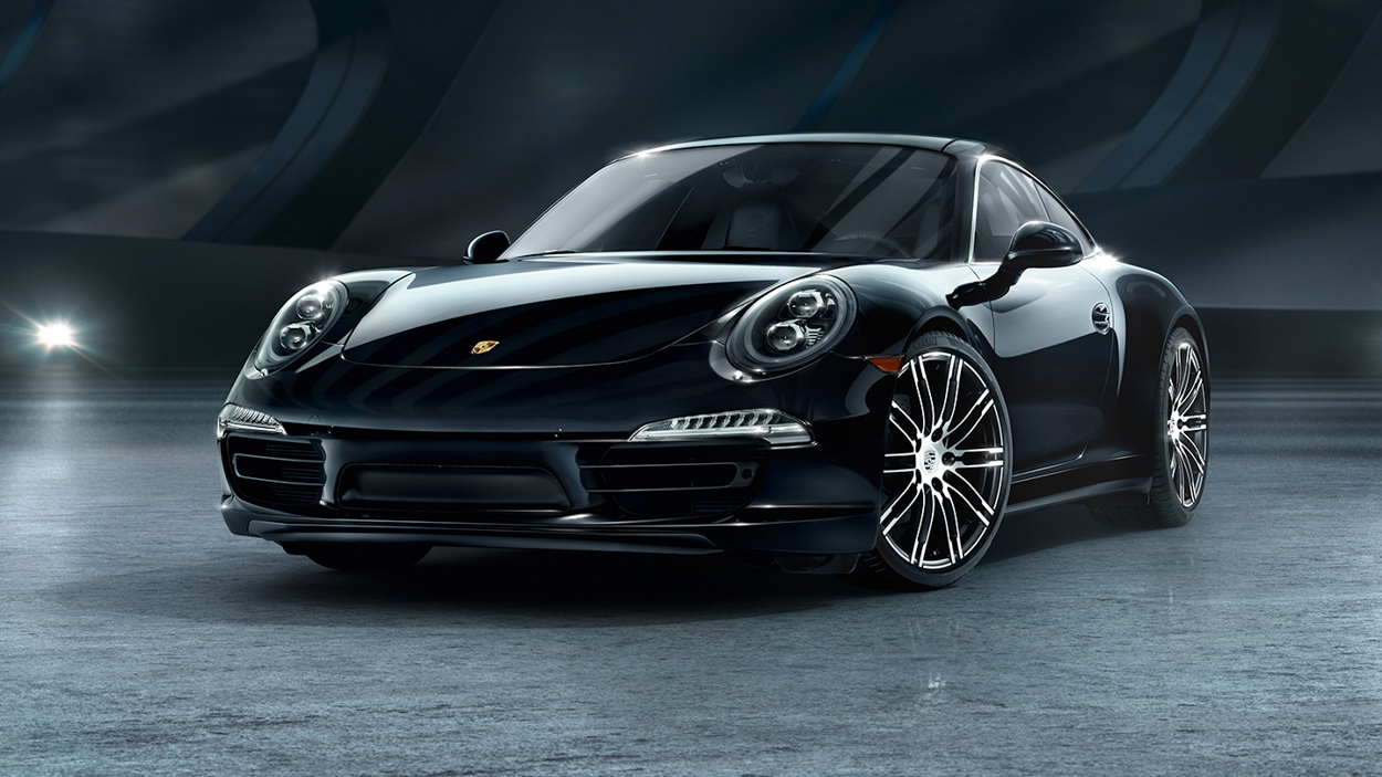 porsche quietly unveils new black edition 911 and boxster models