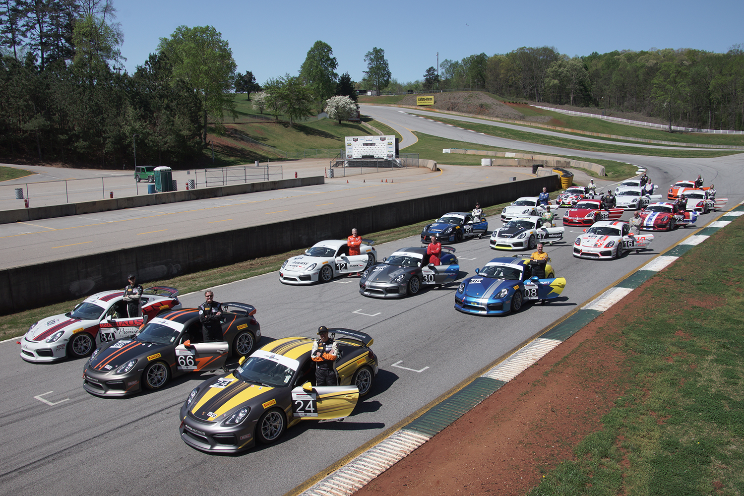 PCA Club Racing Series Completes Successful First Event At Road - Porsche club racing
