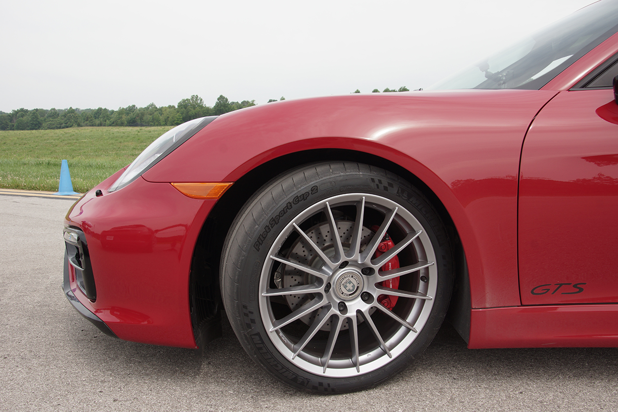 video pca spotlight driving the boxster gts on michelin. Black Bedroom Furniture Sets. Home Design Ideas
