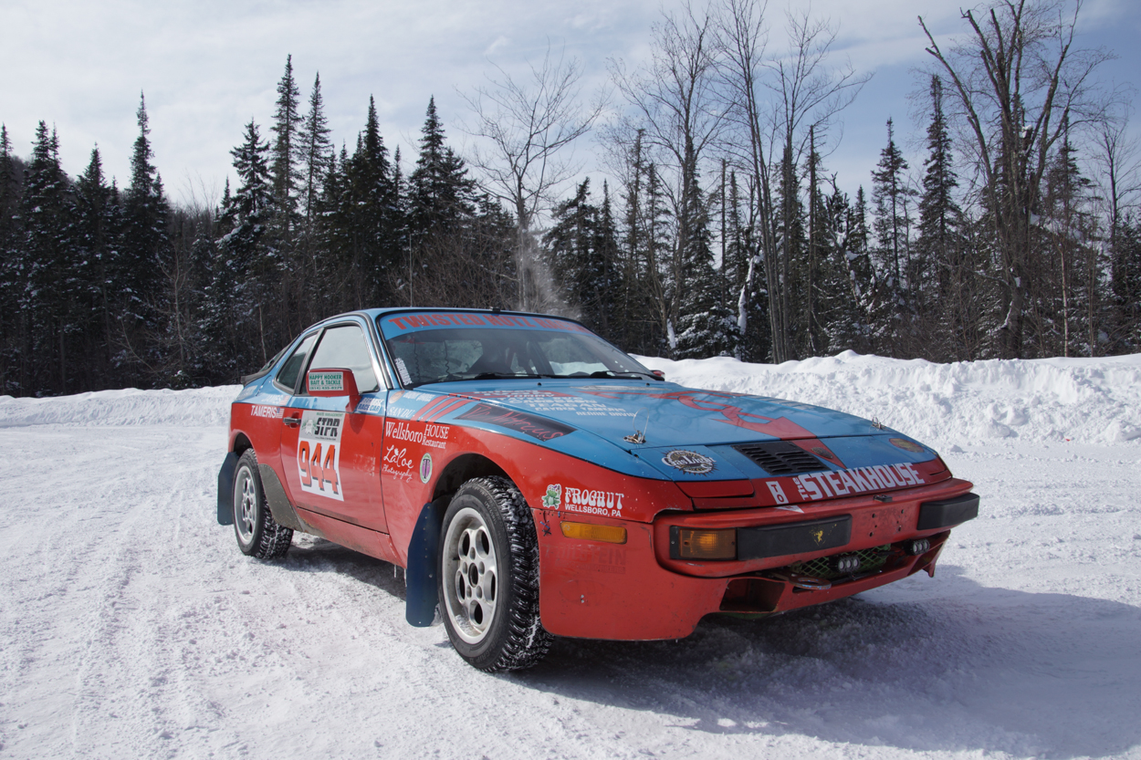 The road less traveled: One member\'s rally-spec 944 | Porsche Club ...