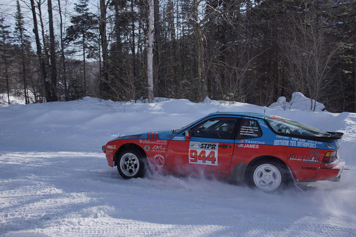 The road less traveled: One member\'s rally-spec 944   Porsche Club ...
