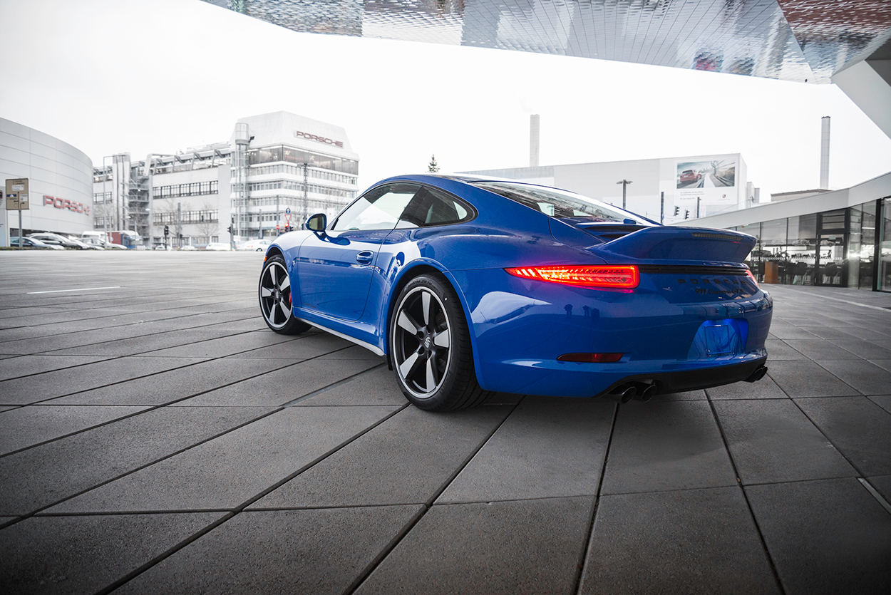 Pca And Porsche Unveil 2015 911 Gts Club Coupe W Video