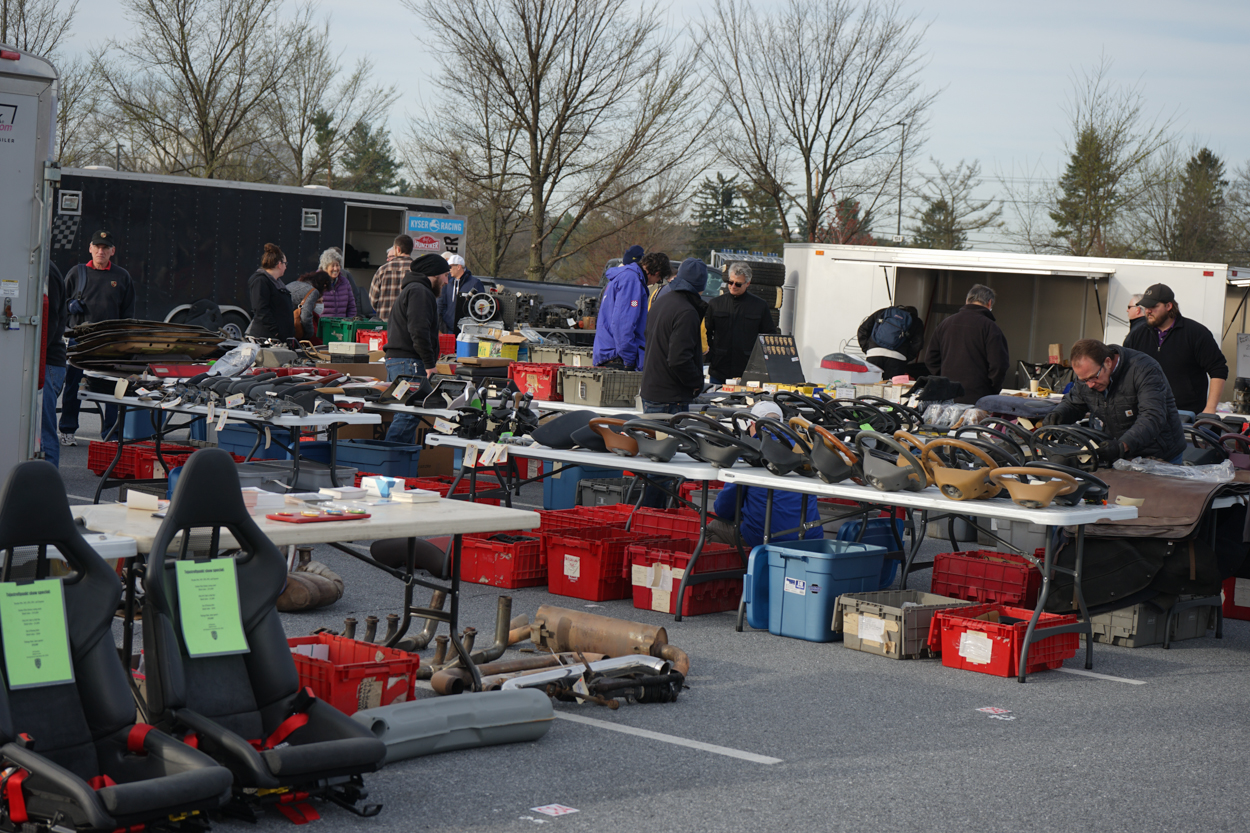 Hershey Car Show >> Five of the most interesting things at the Hershey Porsche-Only Swap Meet   Porsche Club of America