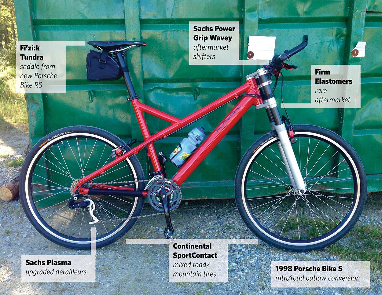 the magnus walker of porsche bicycles porsche club of. Black Bedroom Furniture Sets. Home Design Ideas