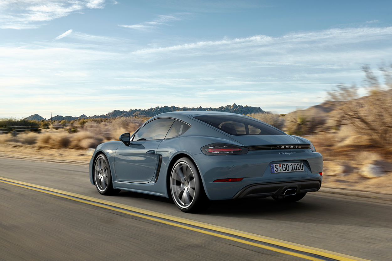 Meet 718 Cayman, Porscheu0027s Least Expensive Sports Car, And Cayman S  [w/video]