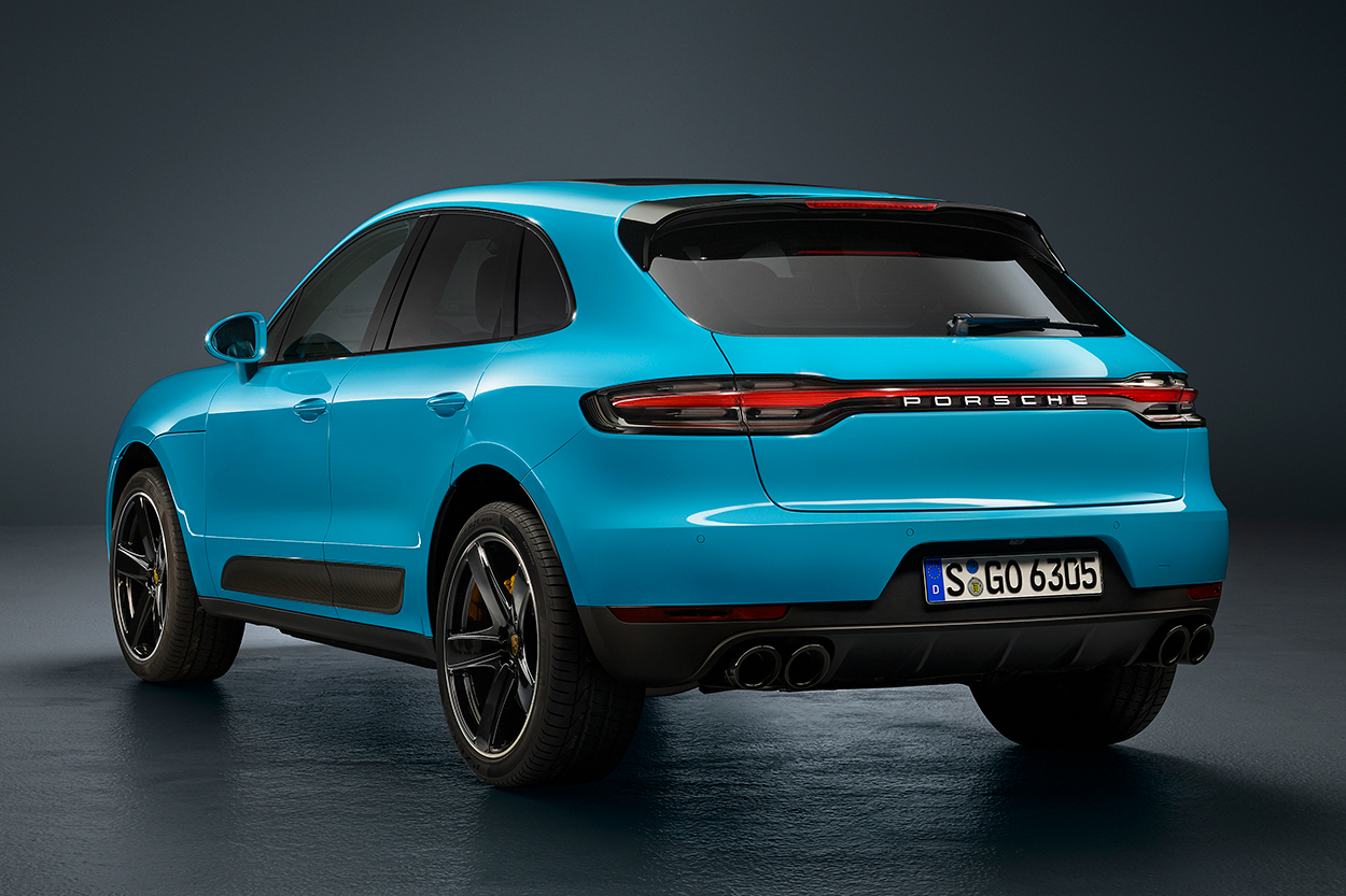 2019 Porsche Macan Gets Mid Cycle Update With Internet Connectivity