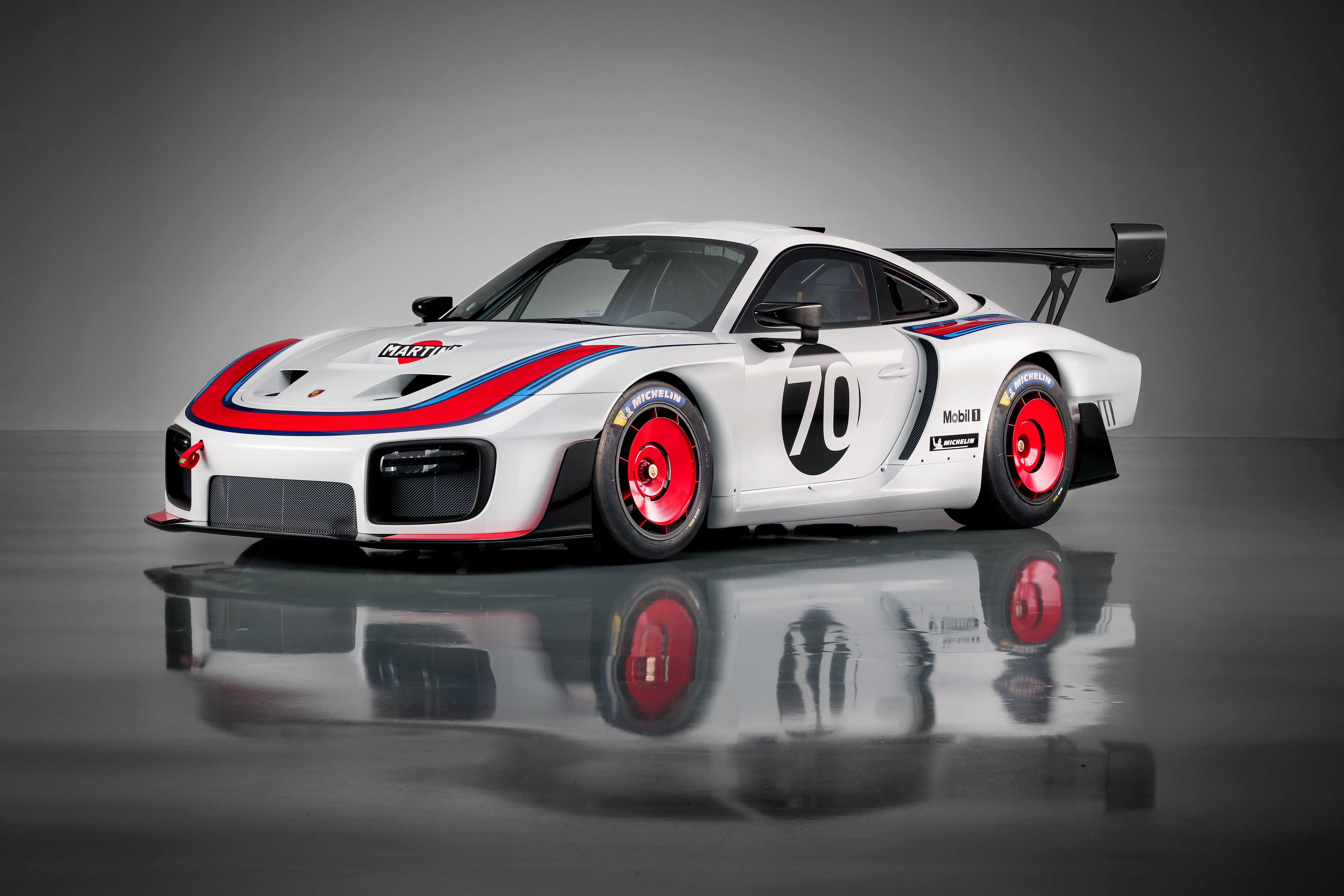 Porsche Debuts New 935 Race Car Inspired By Moby Dick Based On
