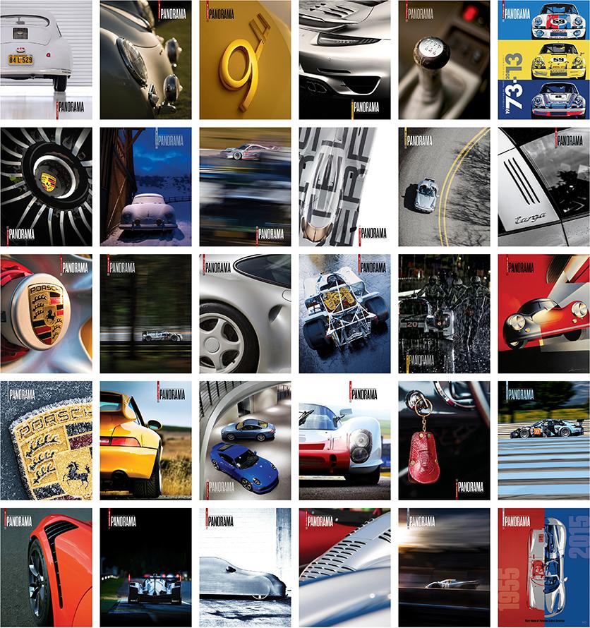 Panorama Porsche Car
