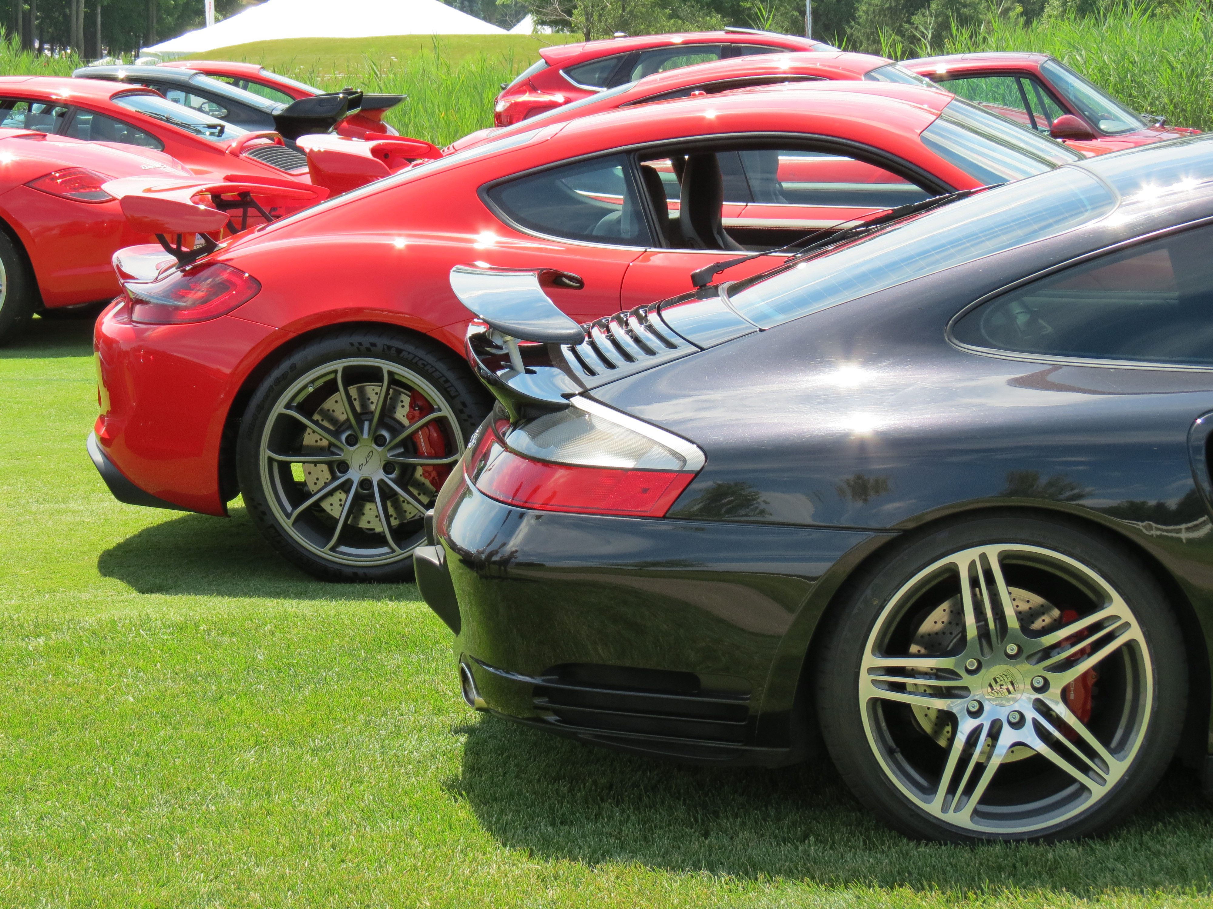 Zone 4 Concours At The Concours Porsche Club Of America