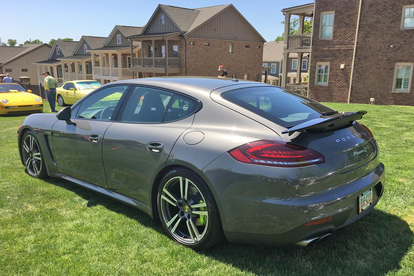 Diyer Modifies Hybrid Porsche Panamera Turbo Spoiler Adaptive Cruise Control 911 Steering Wheel Porsche Club Of America