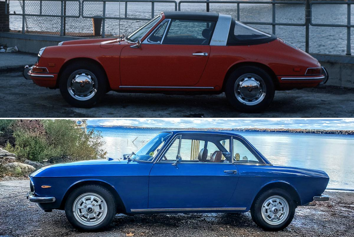 photo of Italian 'Porsche' vs. the real thing: comparing Lancia Fulvia and 912 image