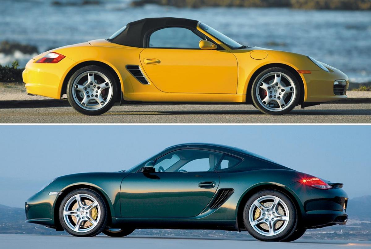 model guide type 987 boxster matures cayman coupe. Black Bedroom Furniture Sets. Home Design Ideas