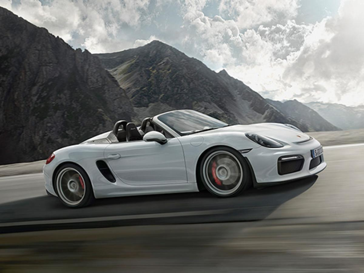 porsche announces 981 gen boxster spyder porsche club of america. Black Bedroom Furniture Sets. Home Design Ideas