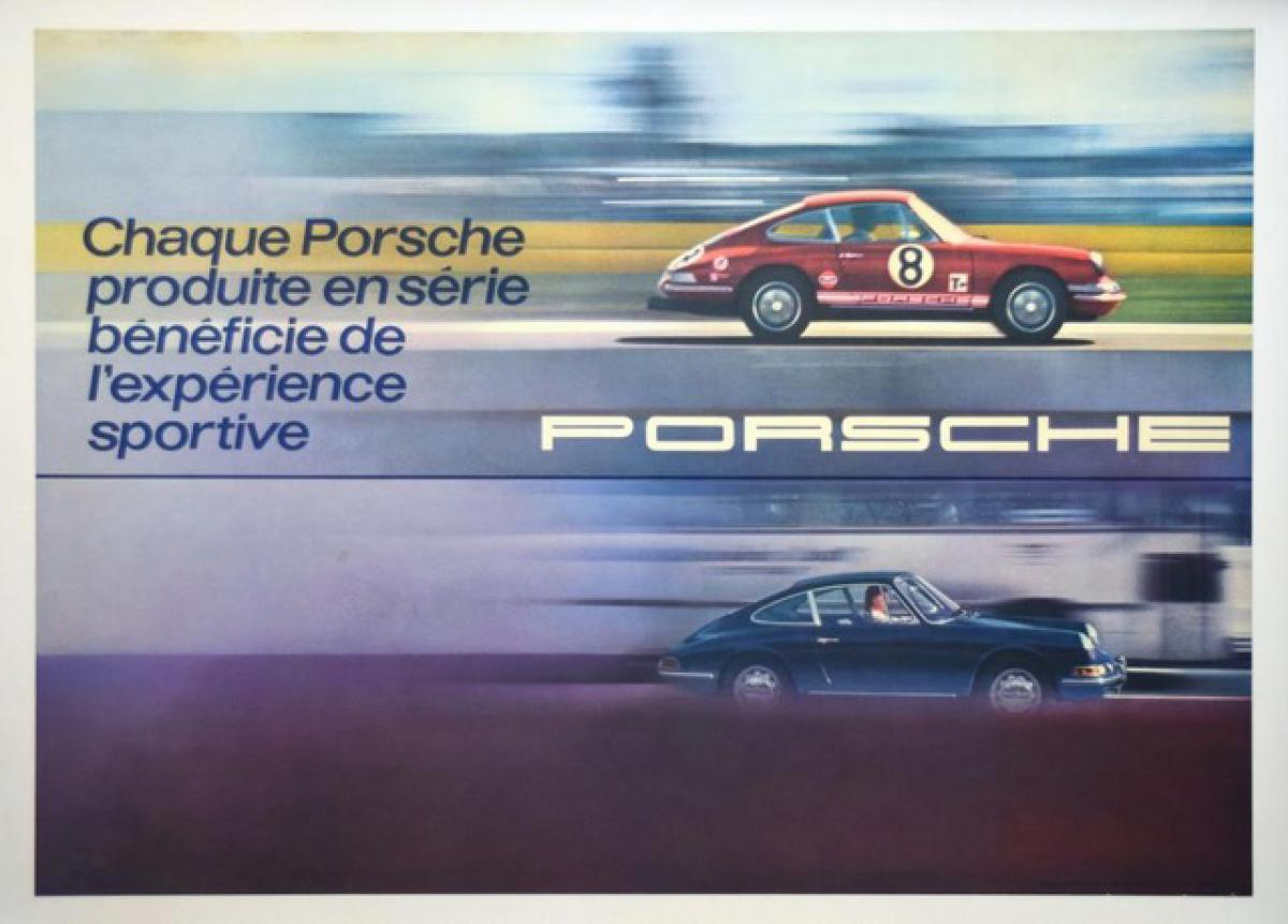 Liven up your home with Porsche posters from these online auctions