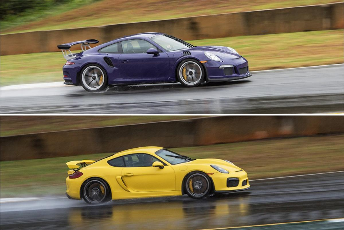 2018 porsche gt4 rs. on the web: gt3 rs and cayman gt4 track tests at road atlanta 2018 porsche gt4 rs