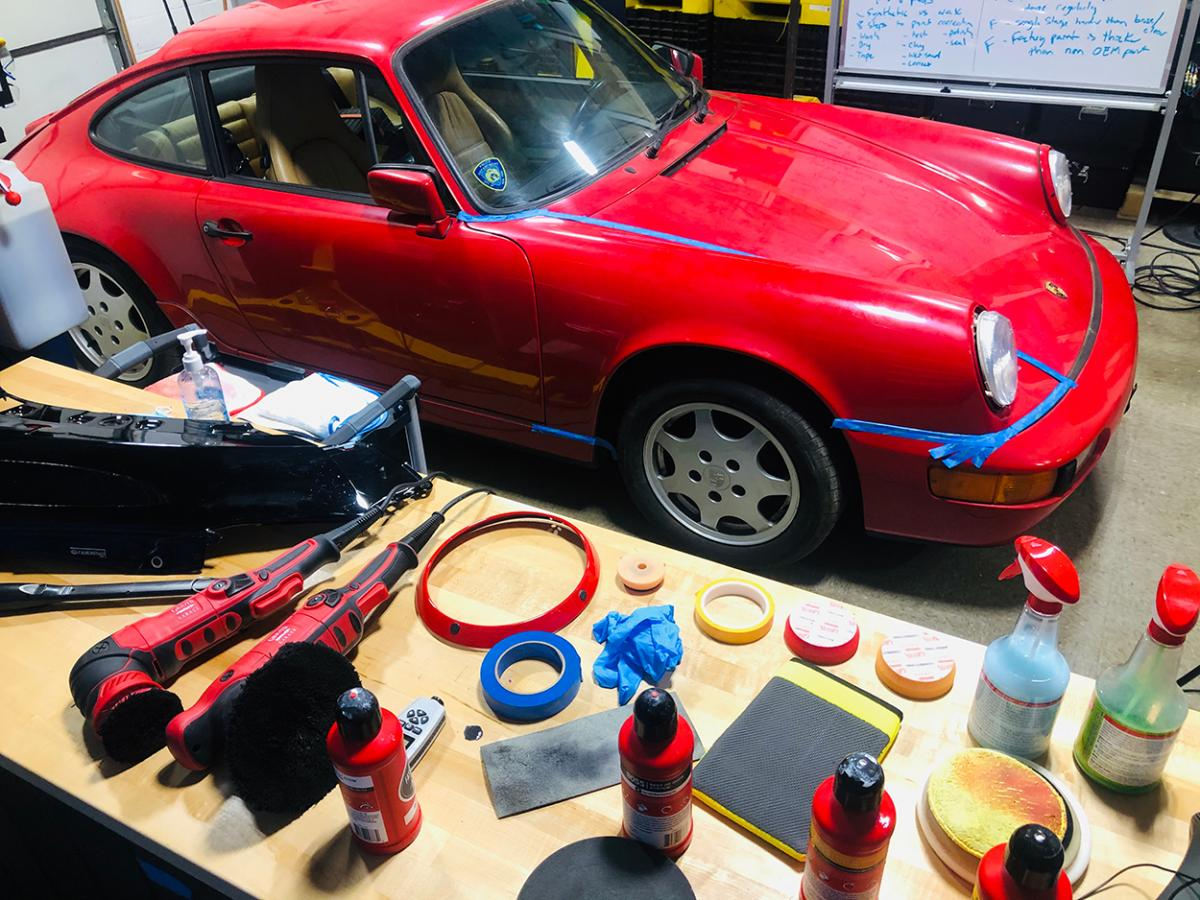 photo of Giving back to PCA: Member donates Porsche 964 Carrera 4 image