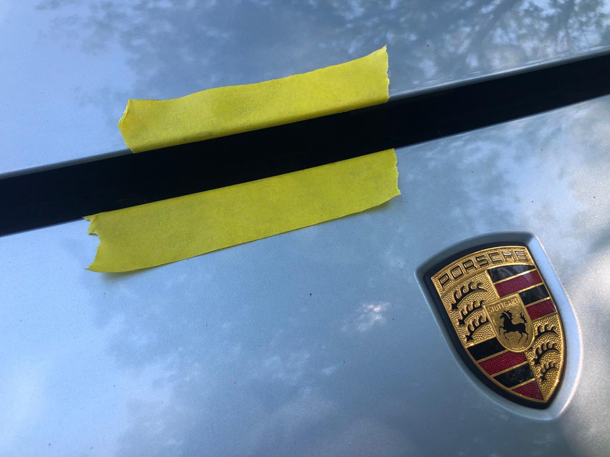 photo of How to open a stuck Porsche Cayenne hood image