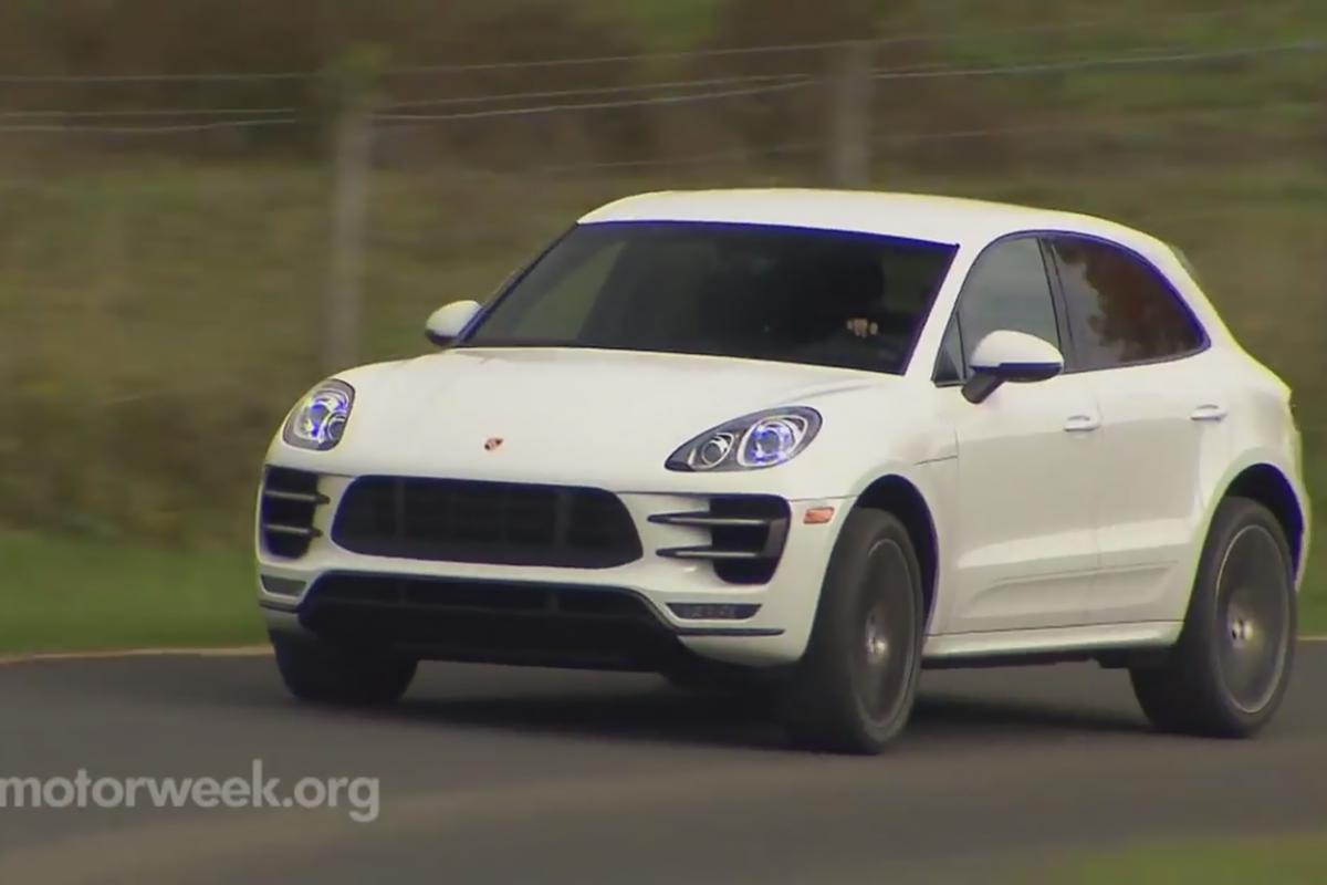 video motorweek reviews macan turbo more 911 wagon than deflated cayenne porsche club of. Black Bedroom Furniture Sets. Home Design Ideas