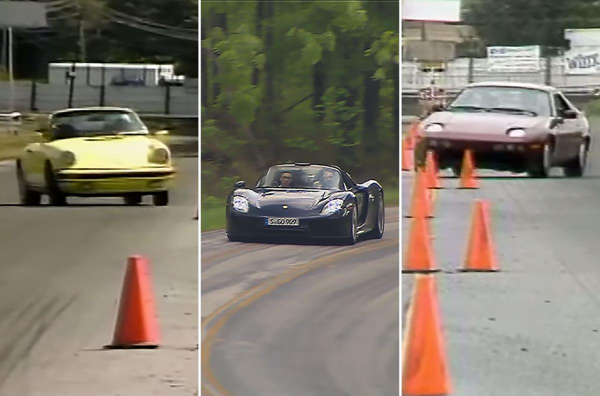 Videos check out motorweek 39 s 918 road test 911 sc for Road america motor club