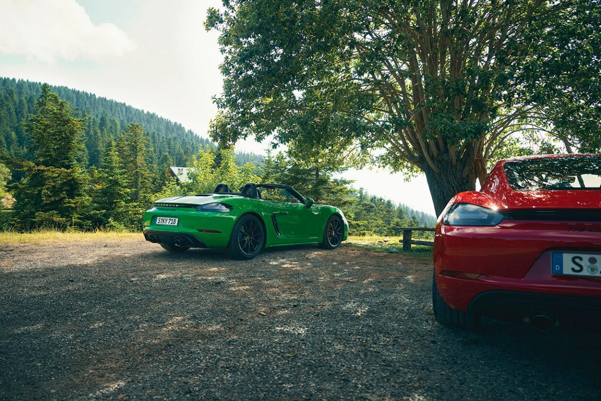 Porsche 718 Cayman and Boxster GTS models get naturally aspirated 4.0-liter flat six