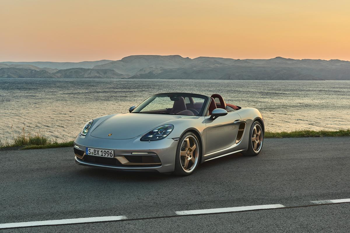 photo of 718 Boxster 25 Years celebrates a quarter century of Porsche's mid-engined roadster image