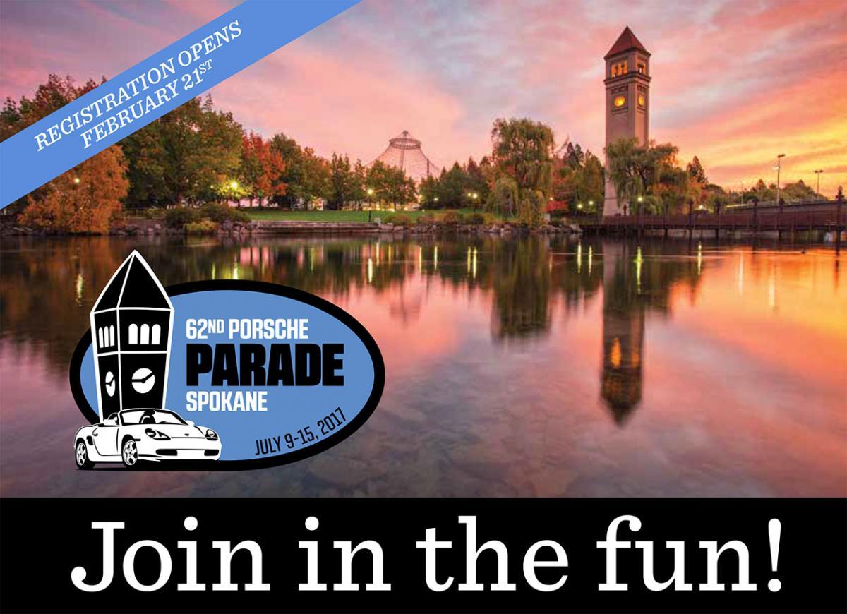 Porsche Parade 2017 Spokane Washington Porsche Club Of