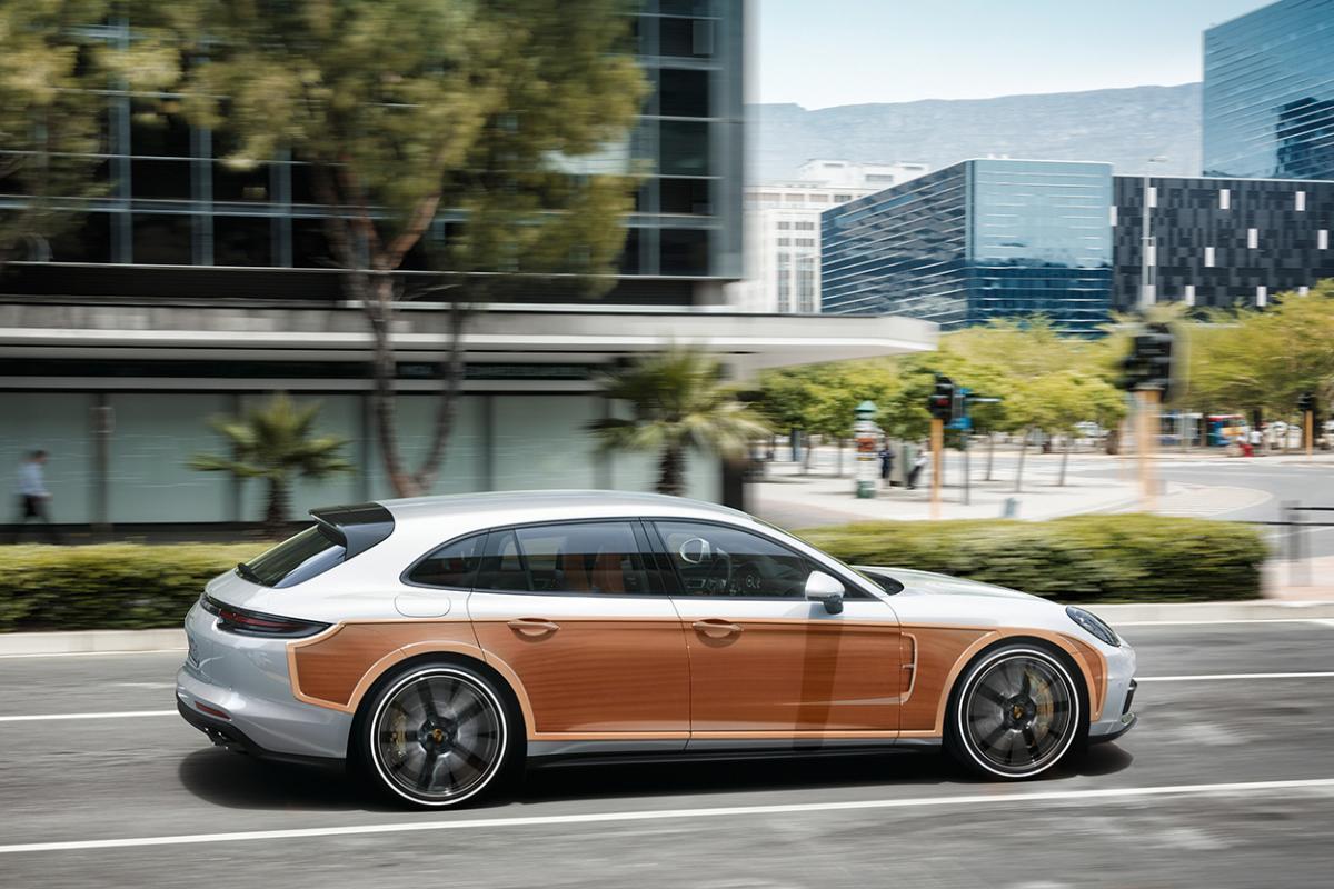 Porsche Announces Panamera Woodie Special Edition