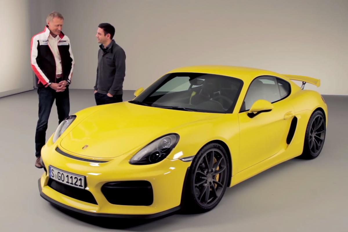 Porsche announced the Cayman GT4 yesterday, a true driver's Porsche with 385 horsepower and a manual transmission, but information about the car's specifications, development process, and how much it actually shares with the GT3 was thin in Porsche's press release. Fortunately Andreas Preuninger, he…