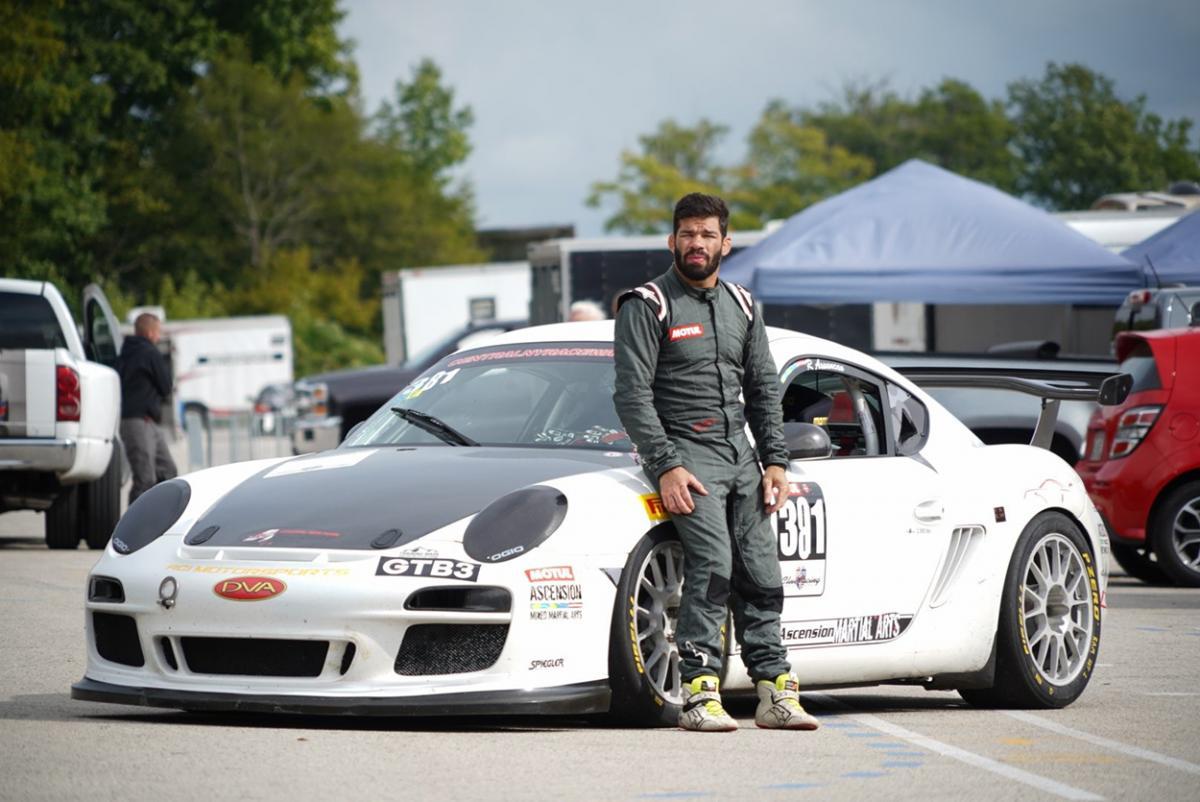 Driveway to Raceway: MMA fighter Raphael Assuncao goes PCA Club Racing