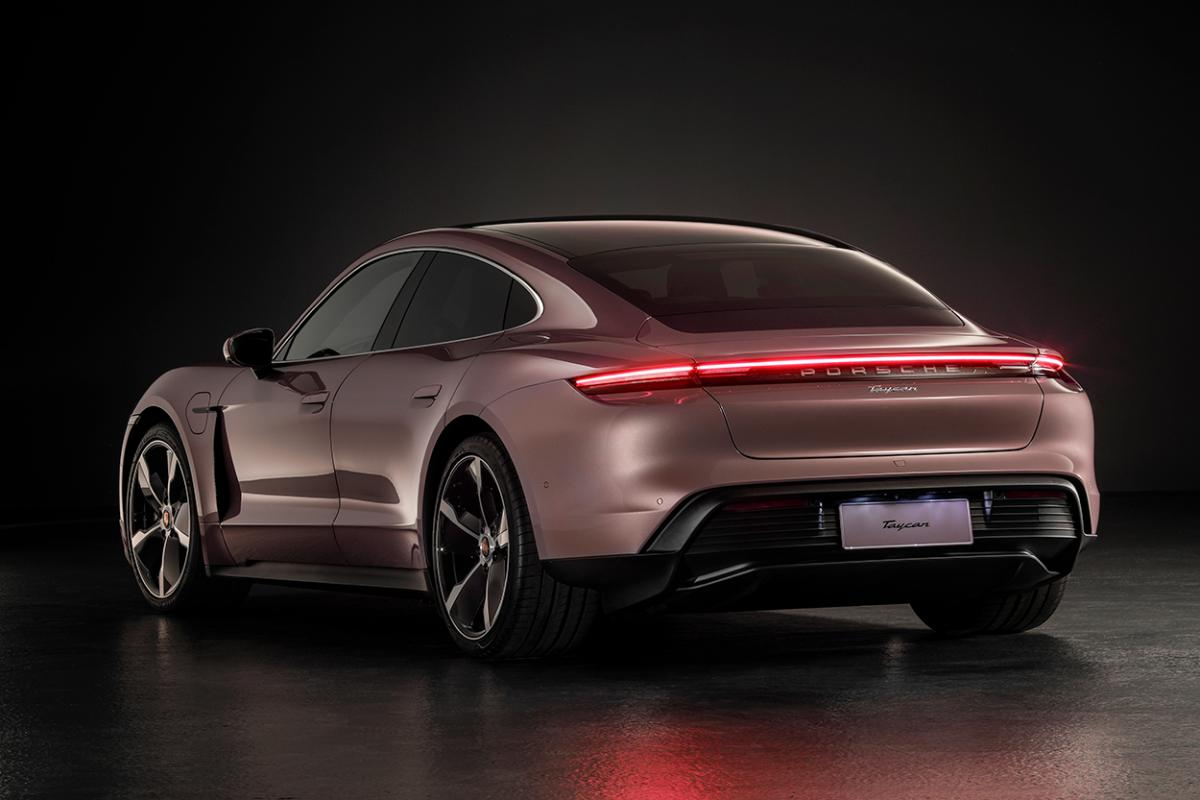 Base Porsche Taycan for Chinese market to have rear-wheel drive, 303-mile range