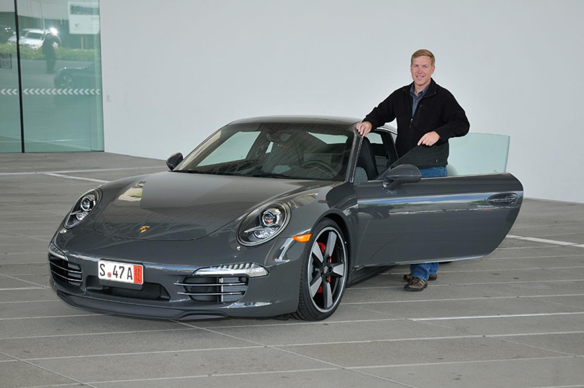 Members Only Raffle Winner Takes Delivery Of 911 In
