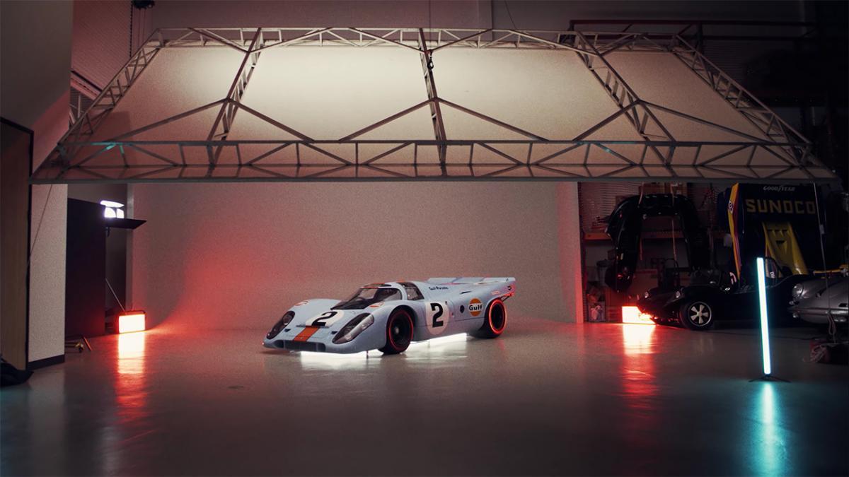 Video: How a pro photographs a priceless Porsche 917