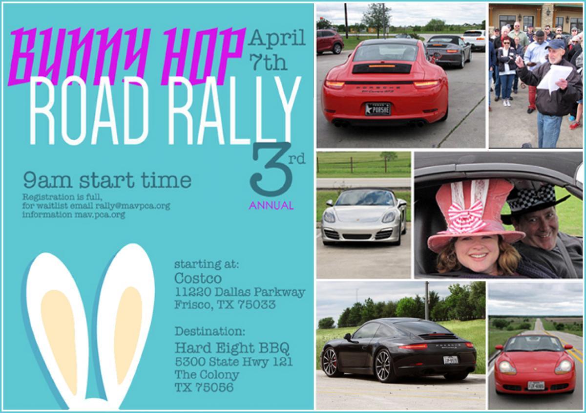 Maverick 2018 Bunny Hop Road Rally | Porsche Club of America