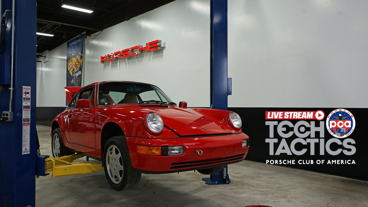 Tech Tactics LIVE: How to start a Porsche after being dormant for 10+ years