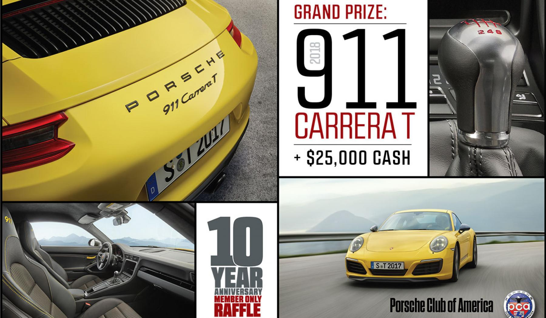 2018 porsche raffle. interesting 2018 fall 2017 member only raffle inside 2018 porsche raffle