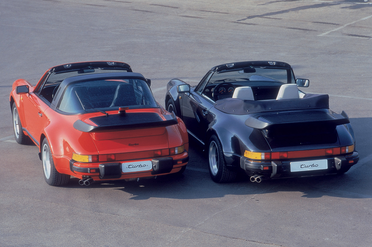 Model Guide Porsche 911 Turbo 1976 2013 Club Of America 1986 Flat 6 Engine Diagram Above 1987 Targa Left And Carbriolet