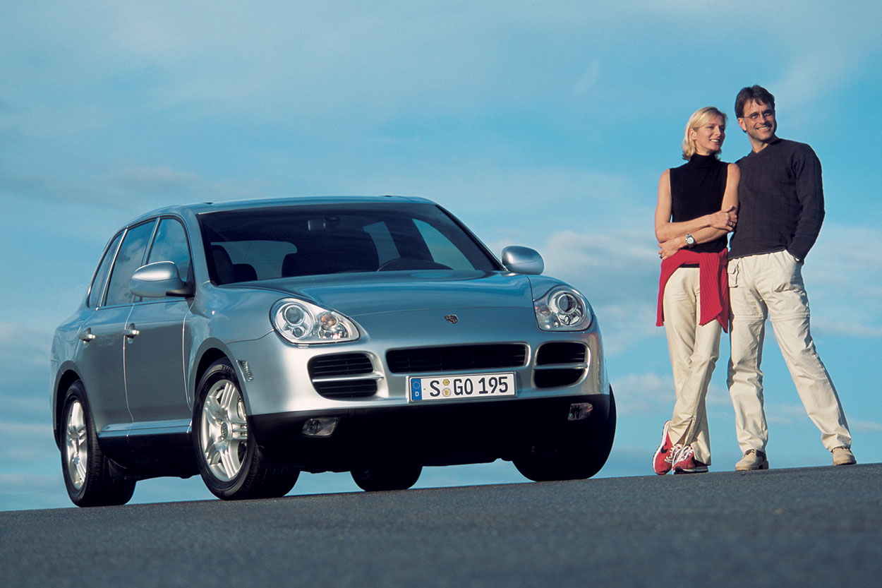 A 2003 Cayenne S Photographed In 2002 For Porsche Vast Collection Of Press Images