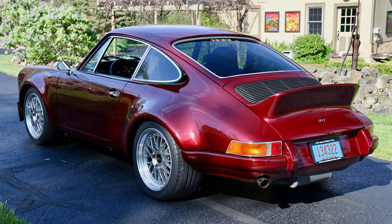 Convalescence To Confluence How One Mans Porsche 912 Got A New Six Scama Engine Wiring Harness More Power Requires Braking Capability So He Installed Carrera 32 Rotors And Early Boxster Brake Calipers Fitted With Hawk Track Pads
