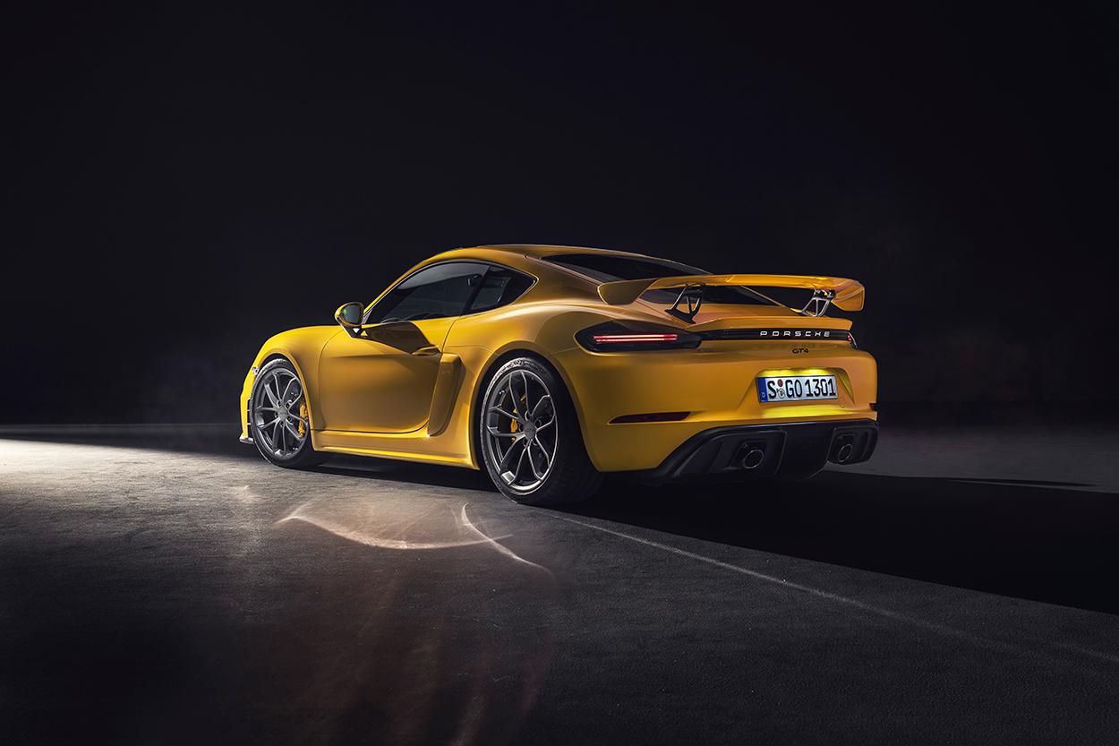 New Porsche 718 Cayman GT4 and 718 Spyder get naturally