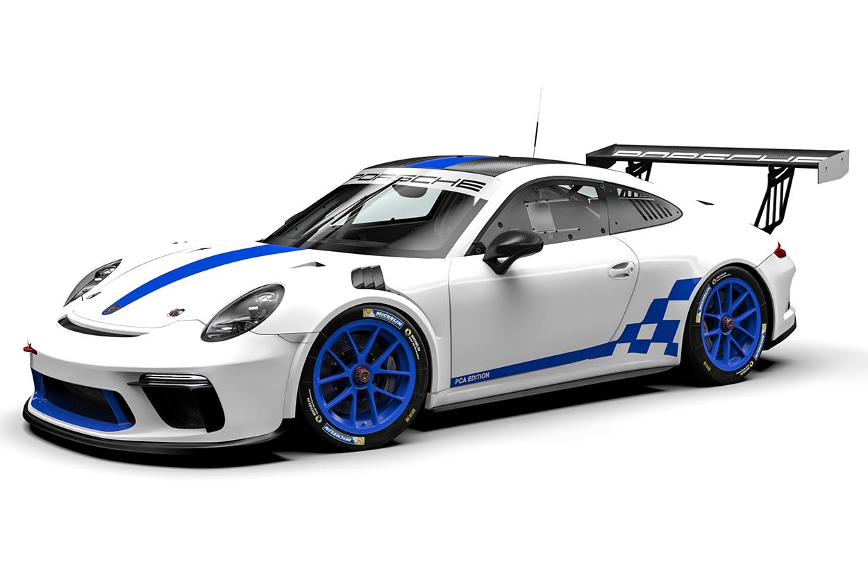 Porsche announces special edition PCA 911 GT3 Cup car at Porsche Parade
