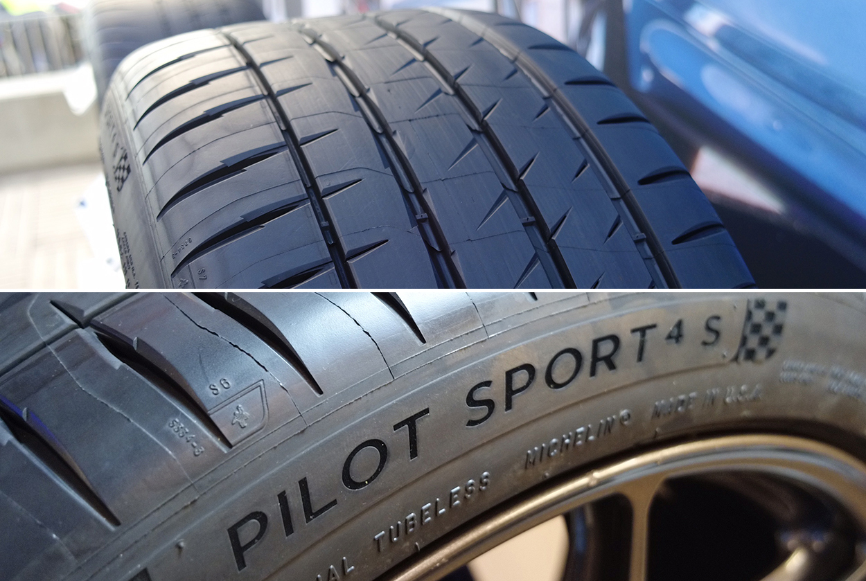 driving with new michelin pilot sport 4s tires porsche. Black Bedroom Furniture Sets. Home Design Ideas