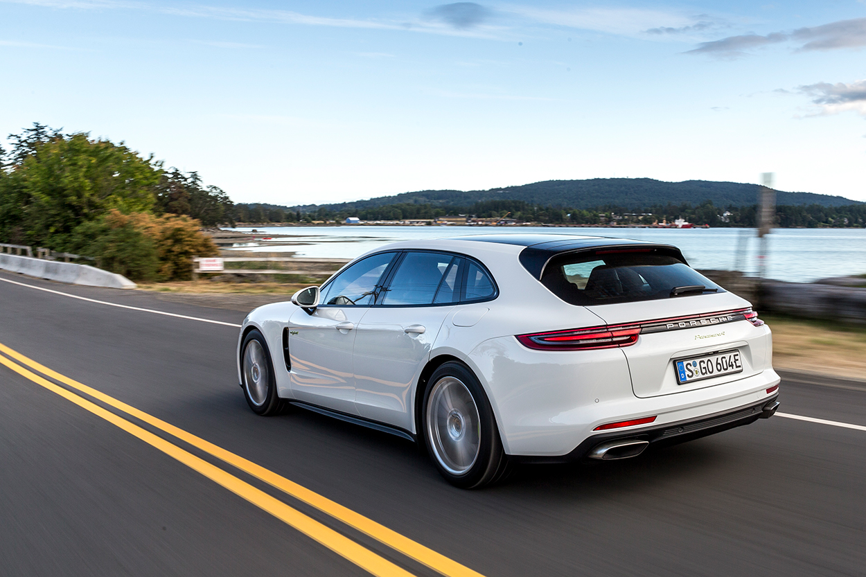 First Drive: Porsche Panamera Sport Turismo | Porsche Club ...