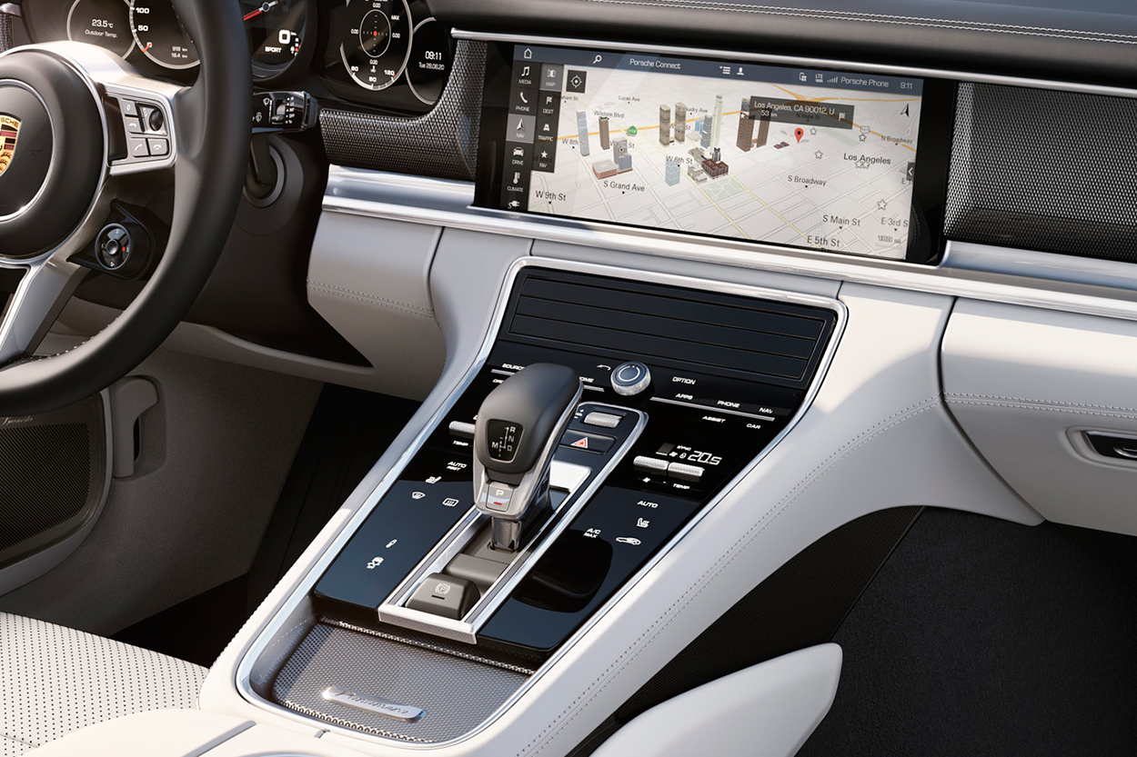 Just As Thrilling The New Panameras Exterior Is Its Driver Interface Porsche Calls This Advanced Cockpit And It Has A Huge Center