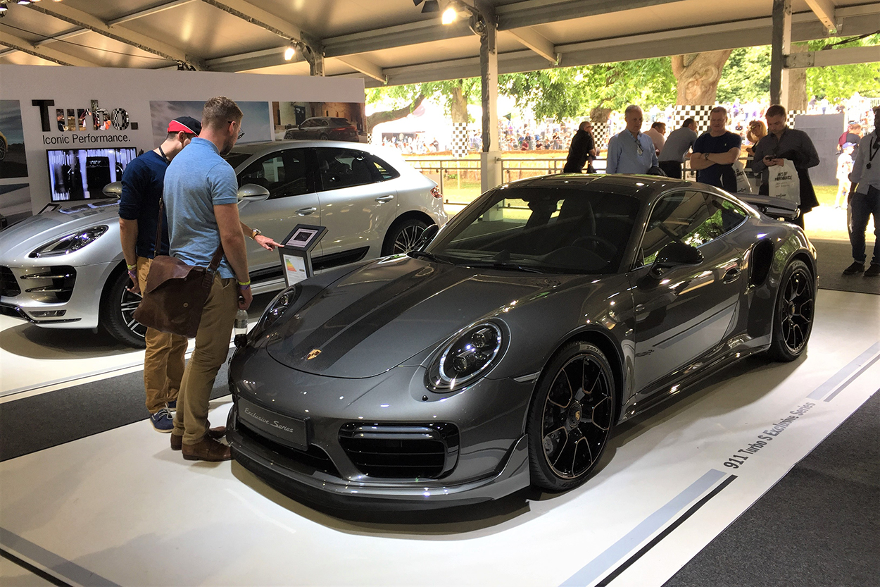 porsche and the 2017 goodwood festival of speed w video. Black Bedroom Furniture Sets. Home Design Ideas