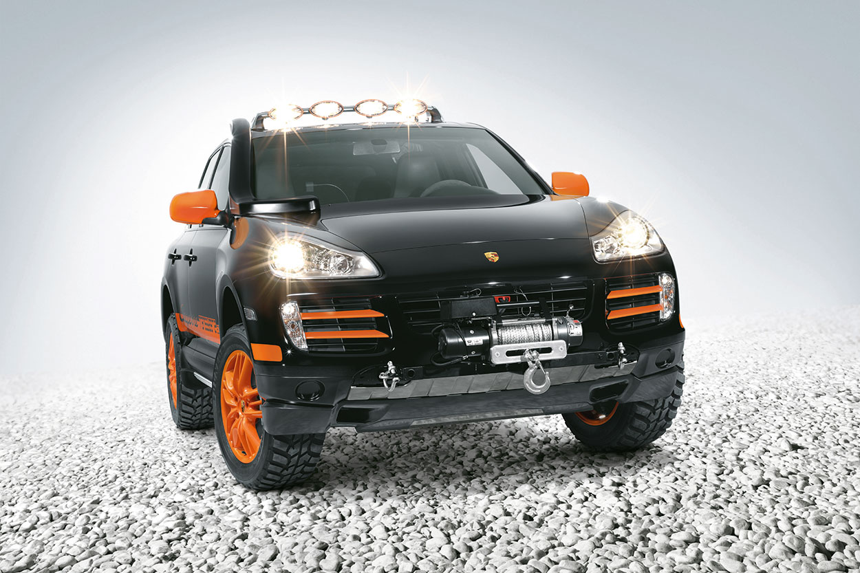Cayenne S Transsyberia With Light Bar Skidplates And Other Off Road Oriented Equipment Some Of It Optional
