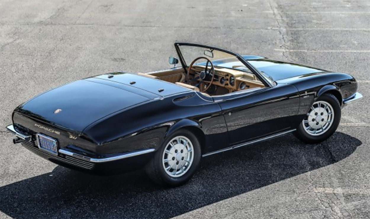 One Off Bertone Porsche 911 Is The Sexiest Porsche You Ve Never Seen