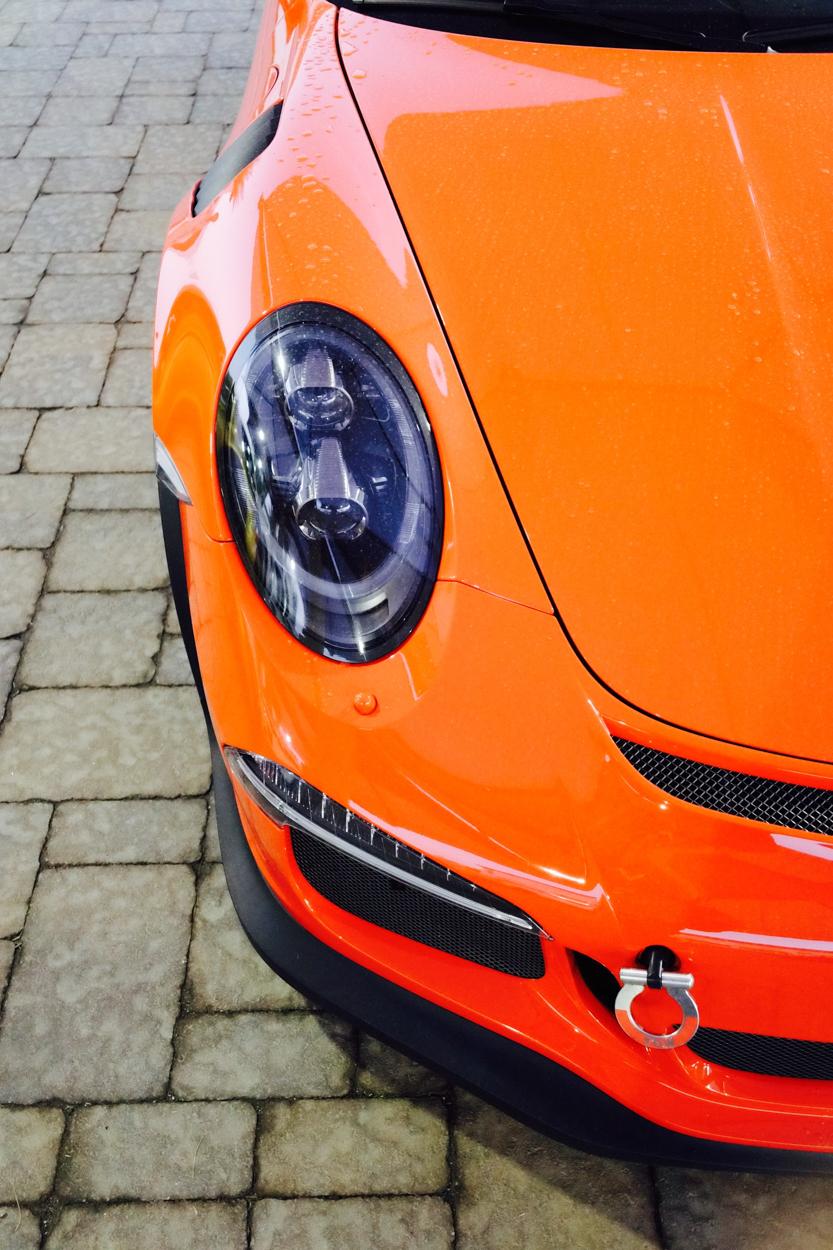 Porsche Steering Wheel >> Driving with new Michelin Pilot Sport 4S tires | Porsche ...